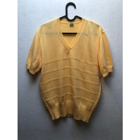 Top, tee-shirt VINTAGE Jaune