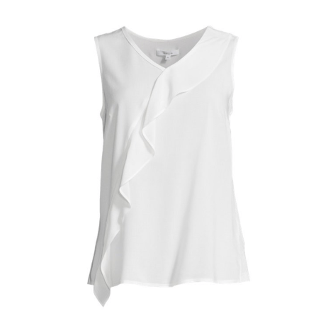 Top, tee-shirt OPUS Blanc, blanc cassé, écru