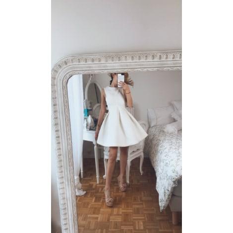 Robe courte AQ/AQ Blanc, blanc cassé, écru