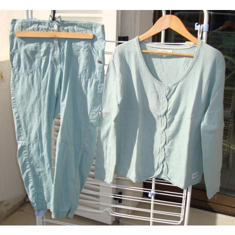 Pantalon droit GOUBI Vert