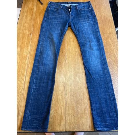 Jeans droit PAUL SMITH Bleu, bleu marine, bleu turquoise