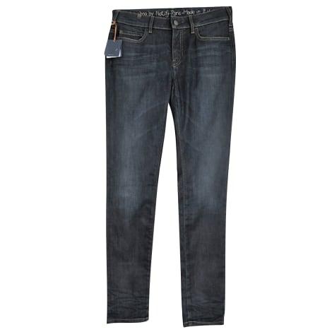 Jeans droit NOTIFY Bleu, bleu marine, bleu turquoise