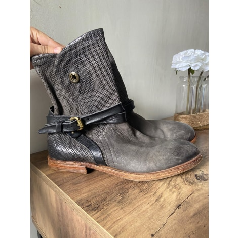 Bottines & low boots plates AIRSTEP Noir