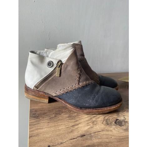 Bottines & low boots plates AIRSTEP Blanc, blanc cassé, écru