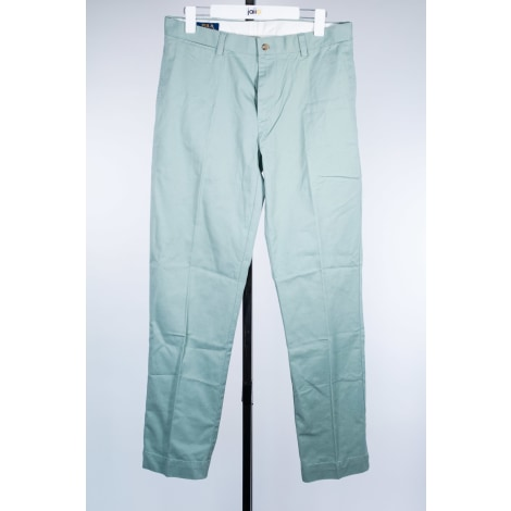 Pantalon droit RALPH LAUREN Vert