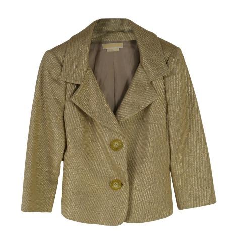 Blazer, veste tailleur MICHAEL KORS Doré, bronze, cuivre