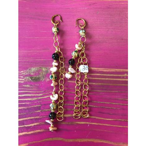 Boucles d'oreille BOUTIQUE INDÉPENDANTE Doré, bronze, cuivre
