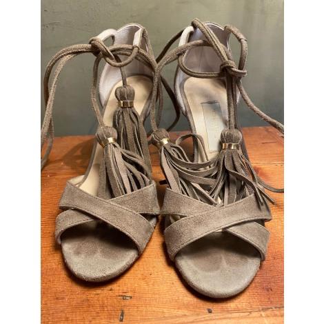 Sandales à talons L'AUTRE CHOSE Kaki