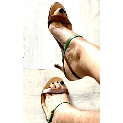 Sandales à talons FREE LANCE Marron