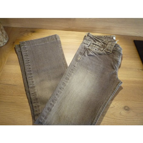 Jeans évasé, boot-cut CACHE CACHE Marron