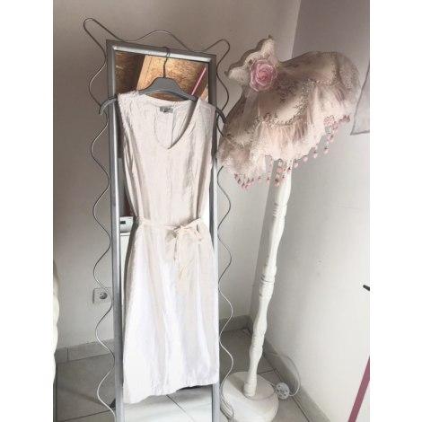 Robe courte BNK Blanc, blanc cassé, écru