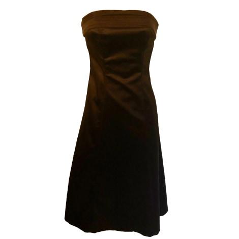 Robe mi-longue COAST Marron