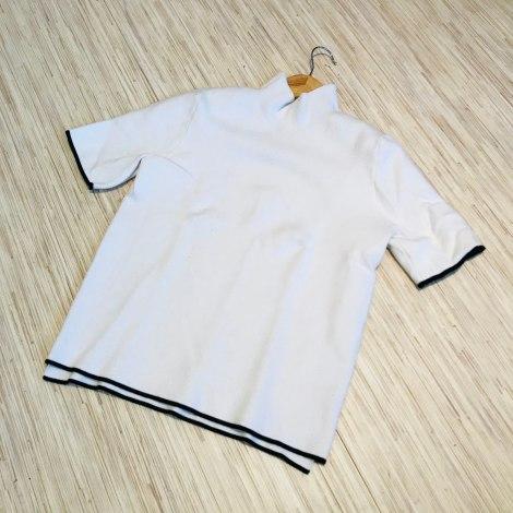Pull ZARA Blanc, blanc cassé, écru
