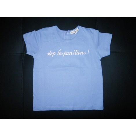 Top, tee shirt GRAIN DE BLÉ Violet, mauve, lavande