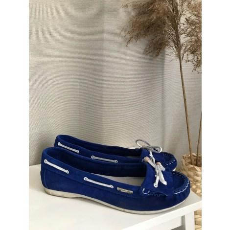 Mocassins LES TROPÉZIENNES PAR M. BELARBI Bleu, bleu marine, bleu turquoise