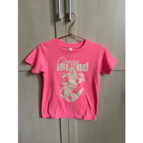 Top, Tee-shirt AMERICAN APPAREL Rose, fuschia, vieux rose