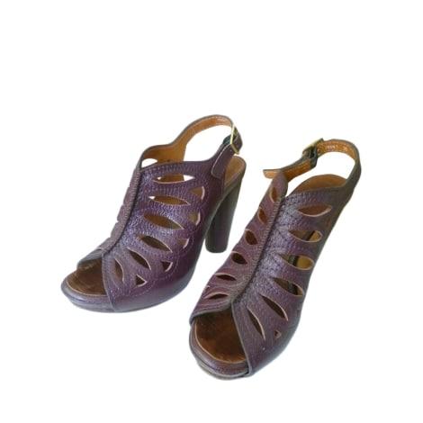 Sandales à talons CHIE MIHARA Violet, mauve, lavande