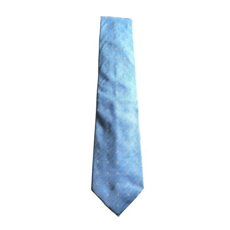 Cravate CÉLINE Bleu, bleu marine, bleu turquoise