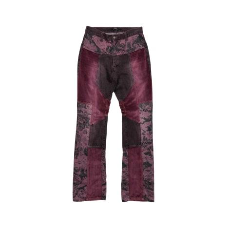 Pantalon droit GIANFRANCO FERRE Violet, mauve, lavande