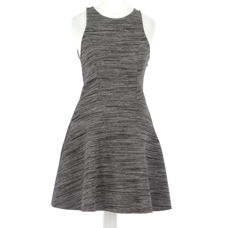 Robe mi-longue ABERCROMBIE & FITCH Gris, anthracite