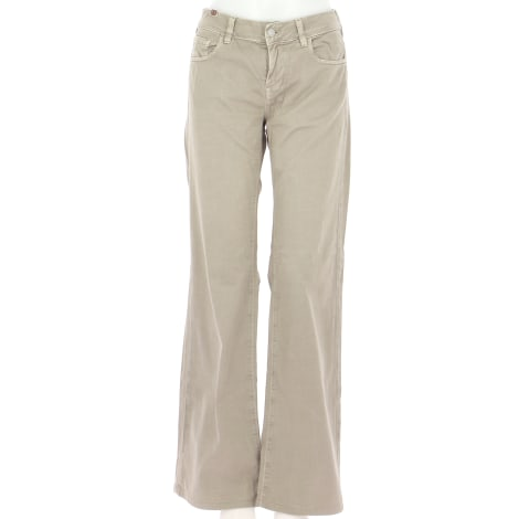 Pantalon droit NOTIFY Beige, camel