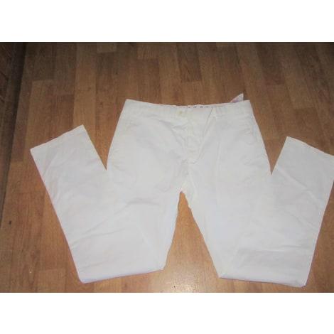 Pantalon large VICOMTE A. Blanc, blanc cassé, écru