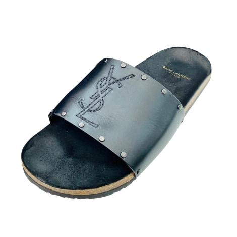 Sandals SAINT LAURENT Black