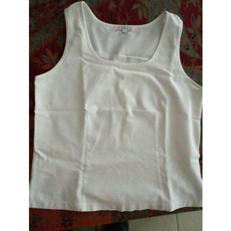 Top, tee-shirt EPICEA Blanc, blanc cassé, écru