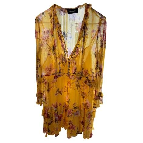 Robe courte THE KOOPLES Jaune