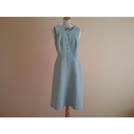 Robe mi-longue IRENE VAN RYB Bleu, bleu marine, bleu turquoise