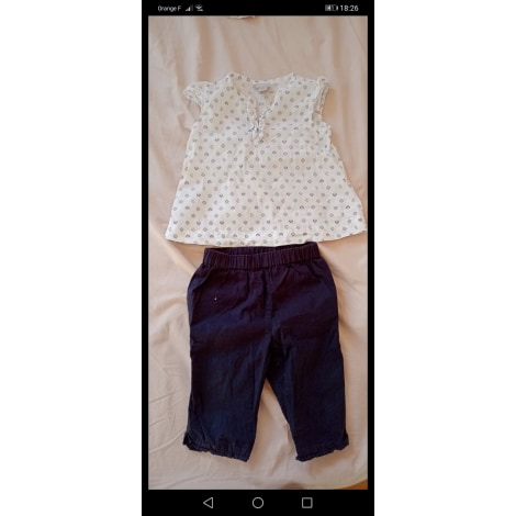 Ensemble & Combinaison pantalon CYRILLUS Bleu, bleu marine, bleu turquoise