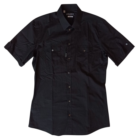 Short-sleeved Shirt DOLCE & GABBANA Black