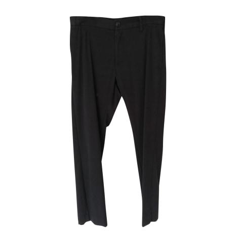 Pantalon droit YOHJI YAMAMOTO Noir
