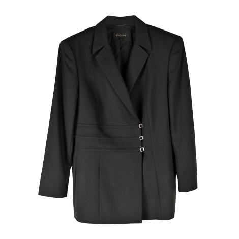 Blazer, veste tailleur ESCADA Noir