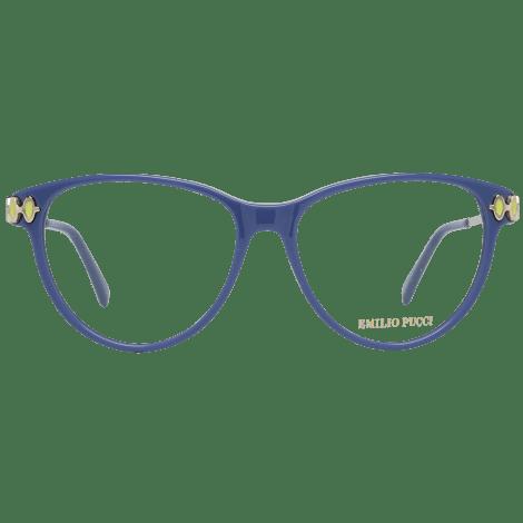Monture de lunettes EMILIO PUCCI Bleu, bleu marine, bleu turquoise