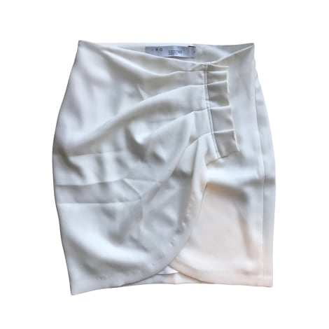 Mini Skirt IRO White, off-white, ecru