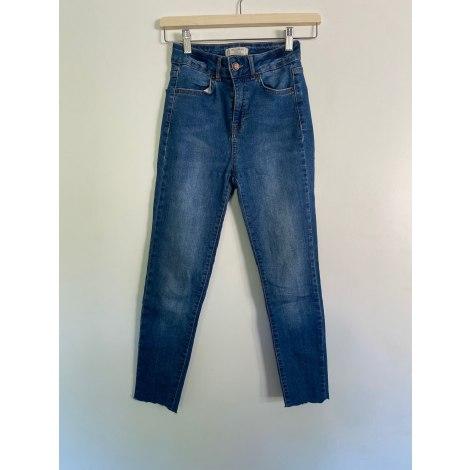 Jeans slim PULL & BEAR Bleu, bleu marine, bleu turquoise