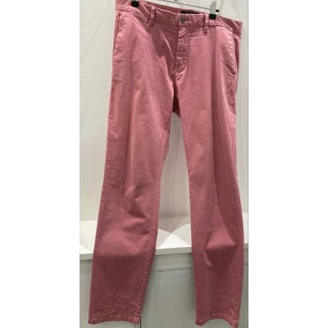 Pantalon droit BURTON Rose, fuschia, vieux rose