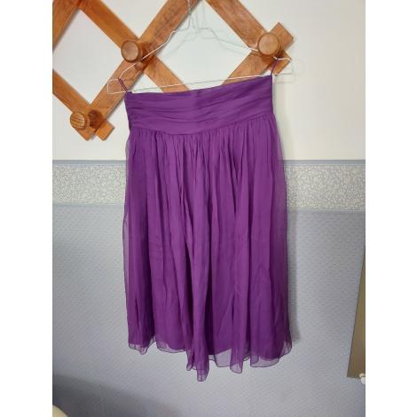 Jupe mi-longue DIOR Violet, mauve, lavande