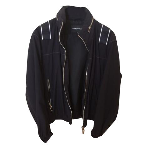 Zipped Jacket EMPORIO ARMANI Black