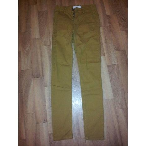 Pantalon slim BONOBO Marron