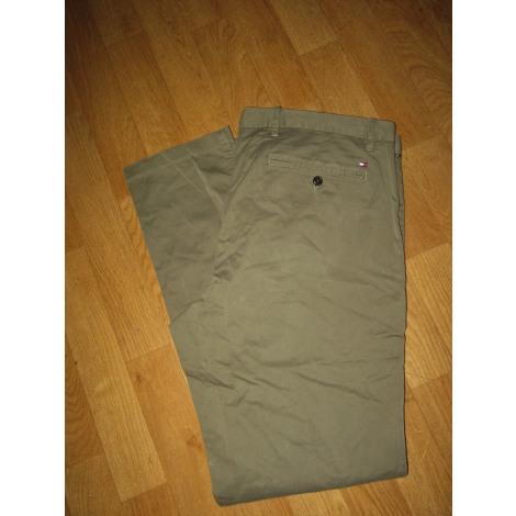 Pantalon droit TOMMY HILFIGER Kaki