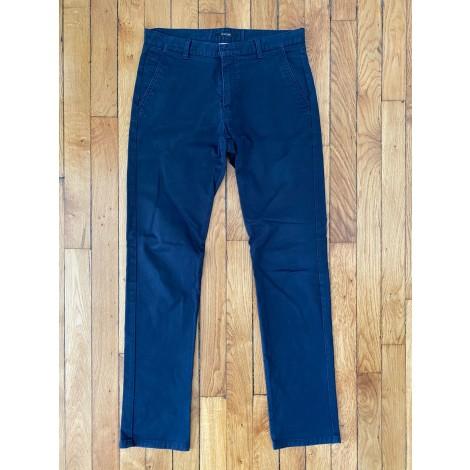 Pantalon droit BURTON Bleu, bleu marine, bleu turquoise