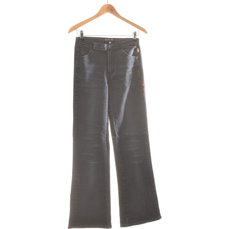 Jeans évasé, boot-cut LIBERTO Bleu, bleu marine, bleu turquoise
