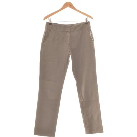 Pantalon droit BRÉAL Gris, anthracite