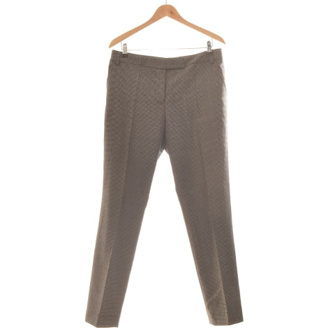 Pantalon droit PAUL SMITH Gris, anthracite