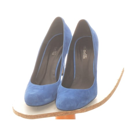 Pumps, Heels MINELLI Blue, navy, turquoise
