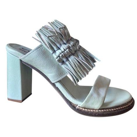 Sandales à talons AIRSTEP Vert