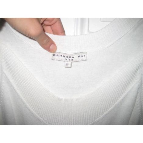 Robe courte BARBARA BUI Blanc, blanc cassé, écru