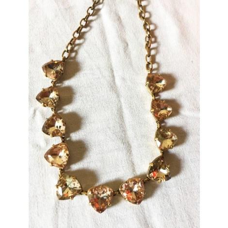 Pendentif, collier pendentif STELLA & DOT Doré, bronze, cuivre